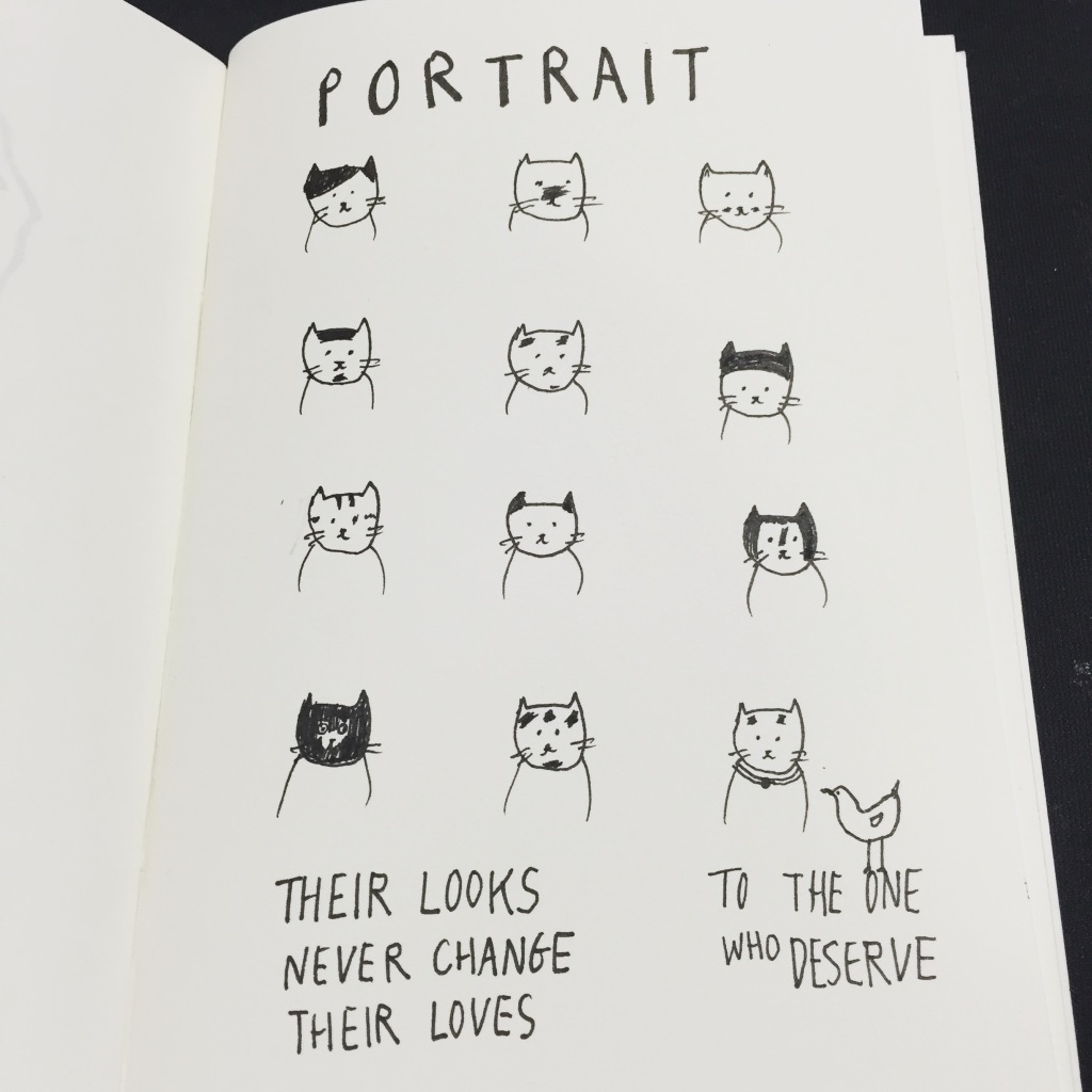 Portrait Cat in illustrate