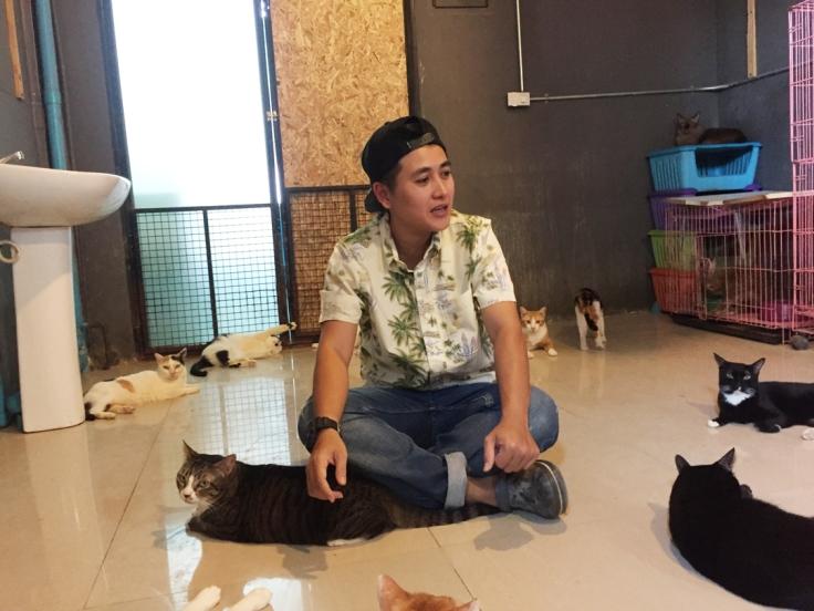 สัตว์แพทย์เลี้ยงแมวที่ลูกค้าไม่มารับคืน #Catclubguest