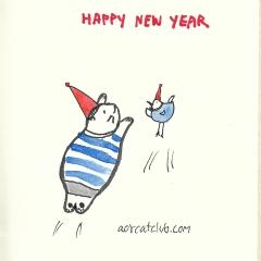 New year Blank-card3_catclubcard
