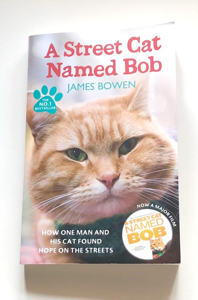 หนังสือแมวบ๊อบ street cat