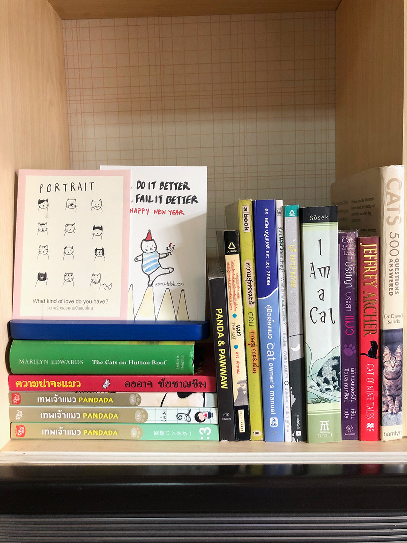 หนังสือแมว หนังสือสะสมที่อยากส่งต่อให้ทาสแมวได้ลิ้มลองความสนุก